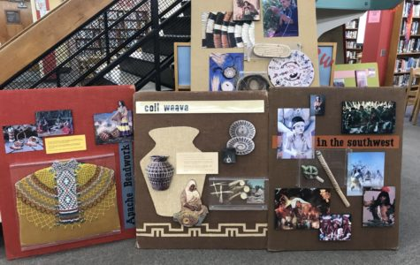 Native American Heritage Month Celebrated in Library
