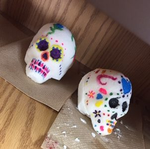 Día De Los Muertos Culture Experienced in Art Class