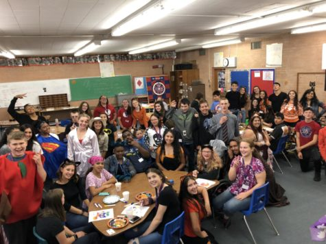StuCo Hosts Halloween Party