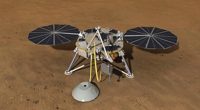 NASAs InSight Space Craft to Mars has Landed