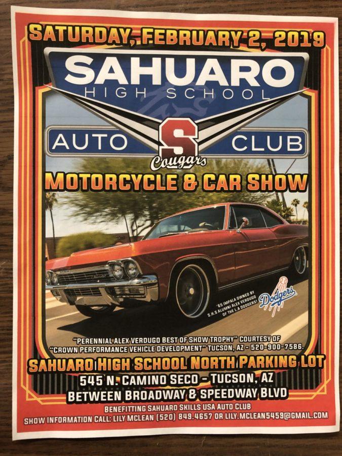 Sahuaros 2019 Car Show