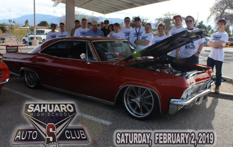 Sahuaro Hosts Car Show