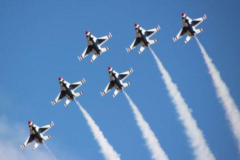 Thunderbirds Headline Tucson Air Show