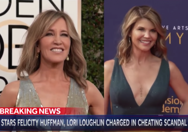 Actresses Charged in College Admissions Cheating Scandal