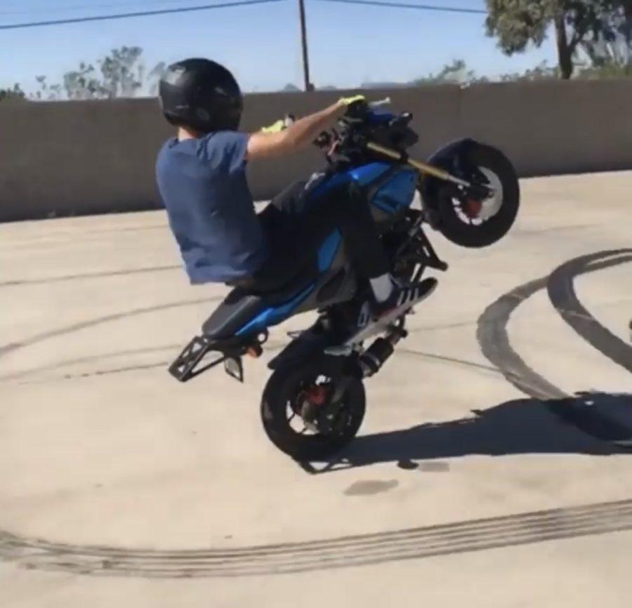 Sahuaro's Very Own Stunt Rider