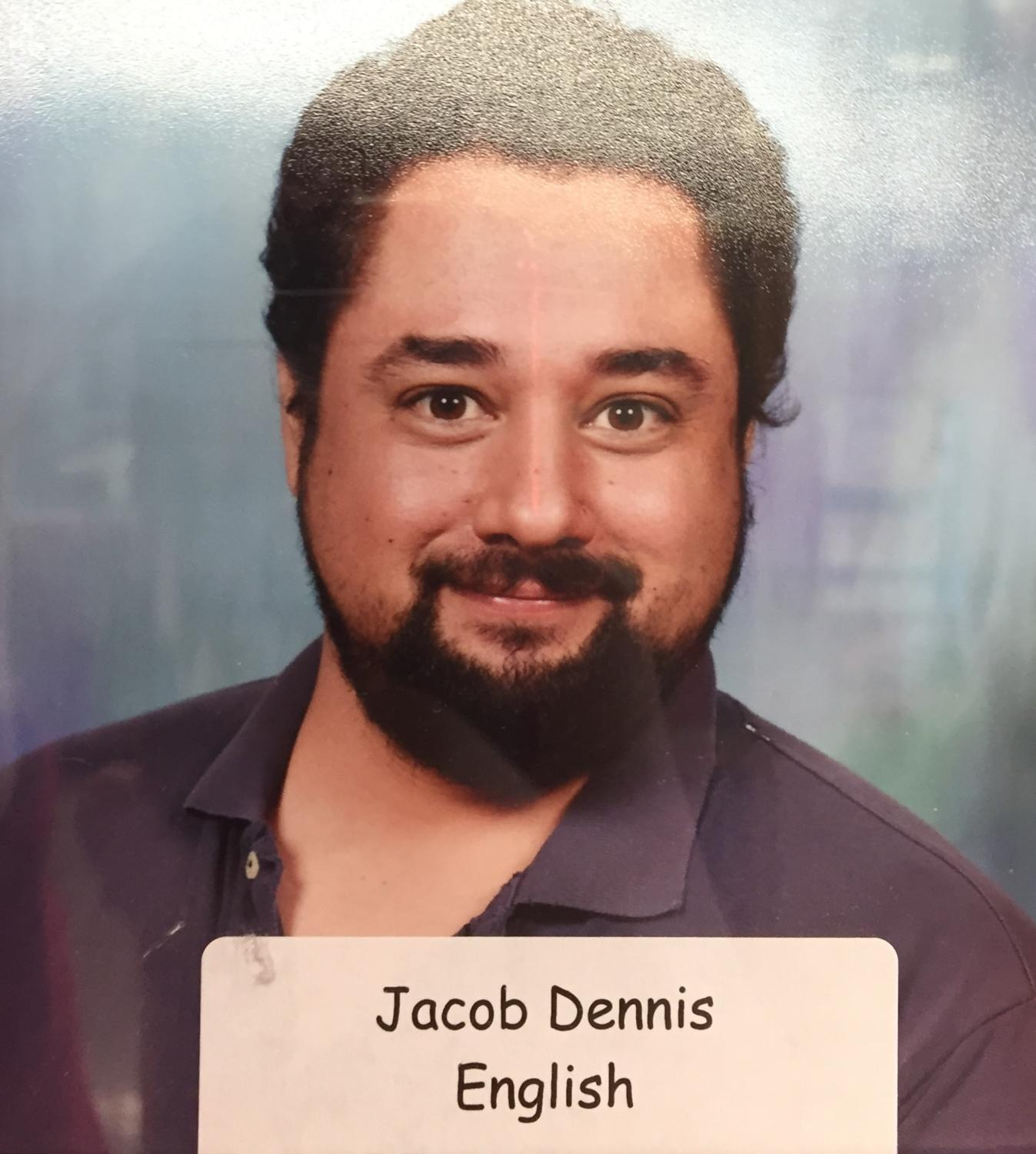 Mr. Dennis' staff picture taken in the summer of 2017