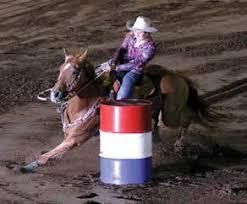 Barrel Racer at Sahuaro!?