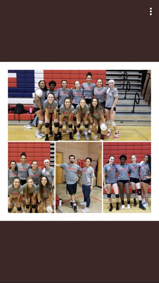 Girls Volleyball Scrimmage: Go Cougars!