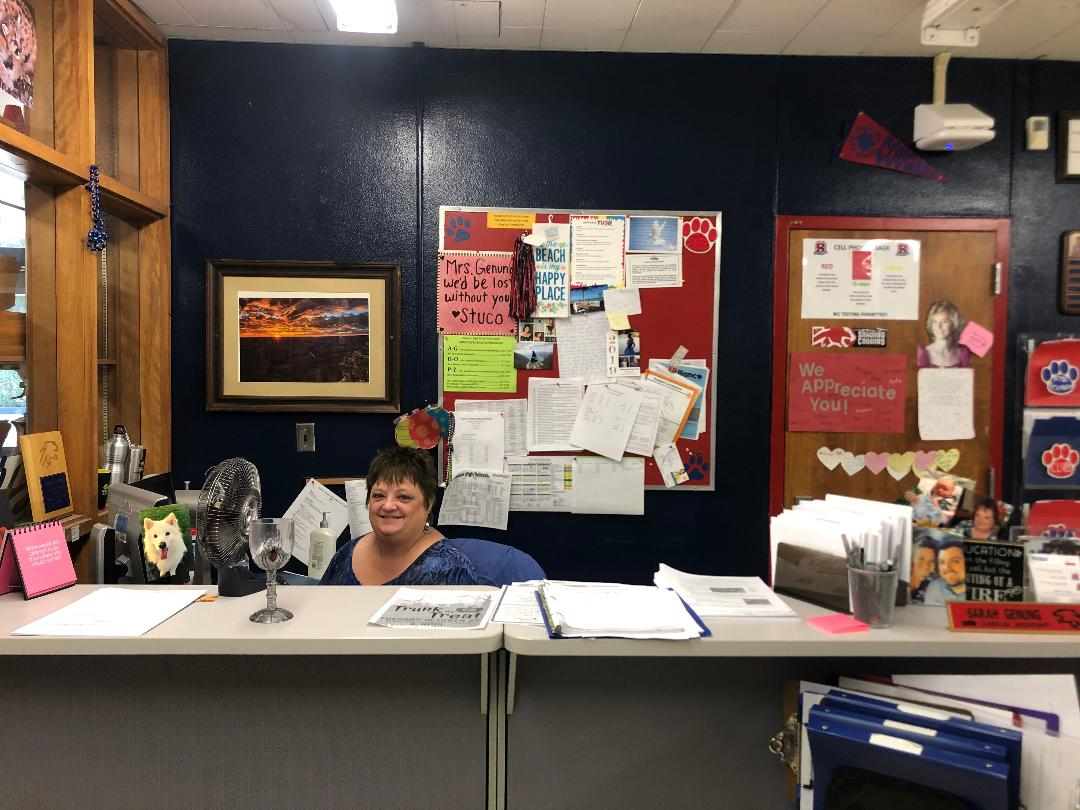 Ms. Genung in her current office