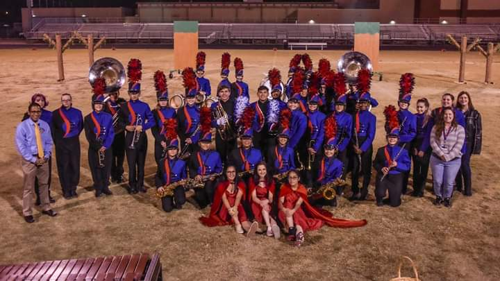Image from 2019 TUSD Marching Band Exhibition
