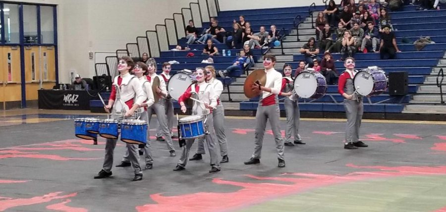First competition of the 2020 indoor drumline season at Ironwood Ridge.