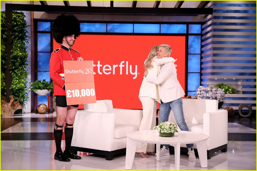 Singer Charlotte Awbery is gifted 10,000 pounds by Shutterfly