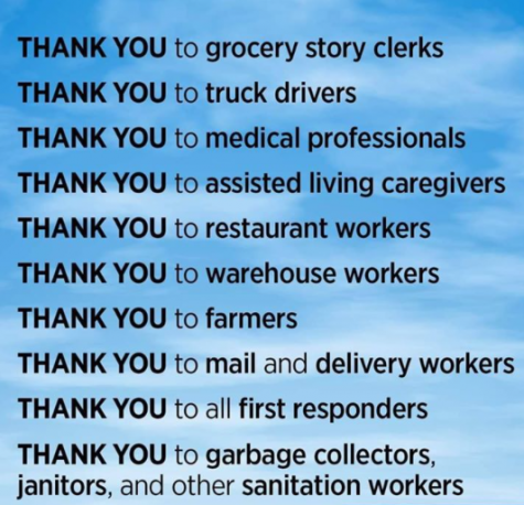 Dear, First Responders... Thank You