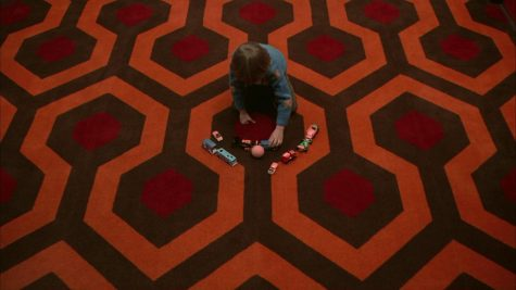 The carpet in the Overlook Hotel