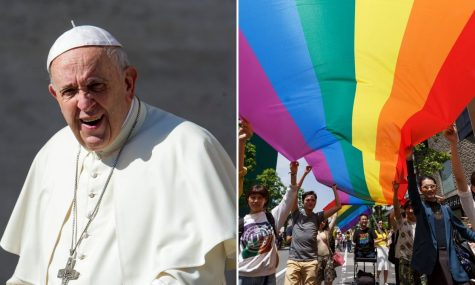 Pope Francis Voices His Support for Gay Community