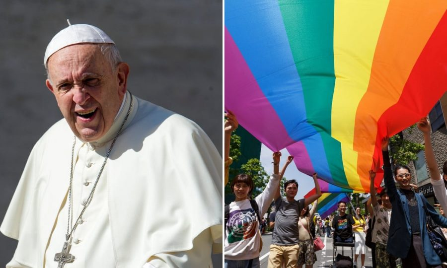 Pope+Francis+Voices+His+Support+for+Gay+Community