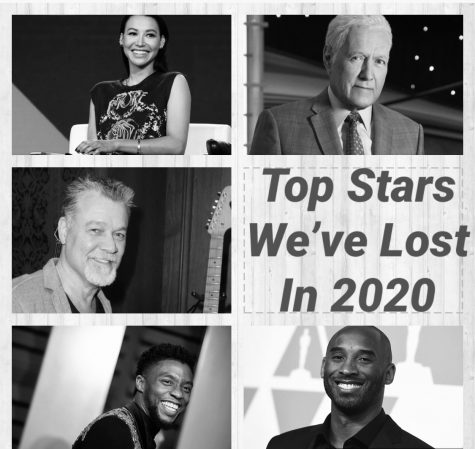 Top 10 stars we've lost in 2020