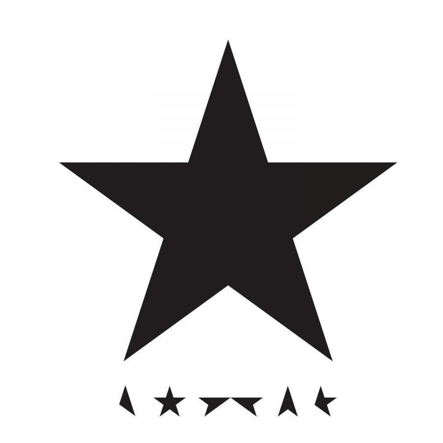The album cover of 'Blackstar'.
