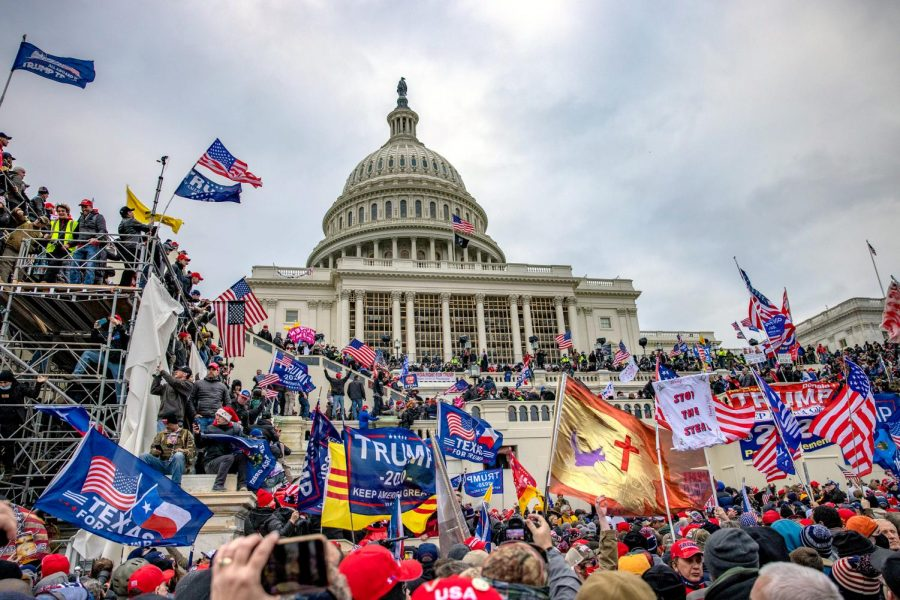 U.S. Capitol Gets Invaded