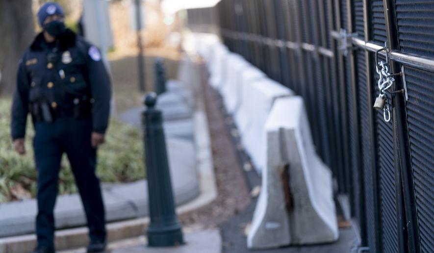 Arrested at U.S. Capitol
