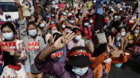 """Myanmar - """"We Demand Democracy"""""""