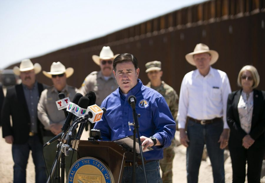 Arizona Governor Doug Ducey Deploys National Guard to U.S.-Mexico Border