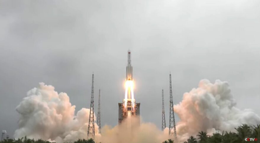 Its A Bird!... Its A Plane!... Its A Giant Rocket From China!