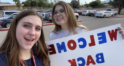 Emma and Jenna welcome back teachers for the 2021-2022 school year!